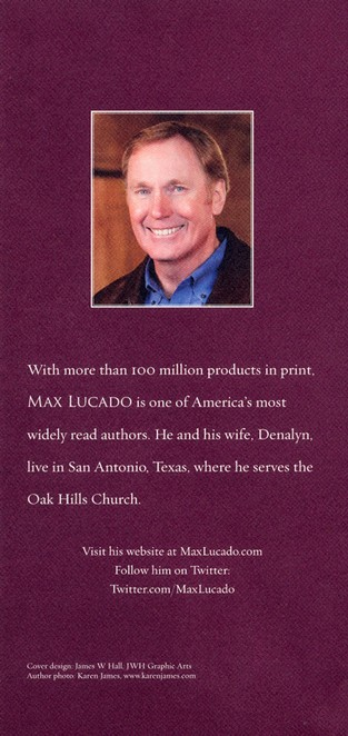 The Lucado Inspirational Reader: Inspiration and Encouragement for Your Life - Slightly Imperfect