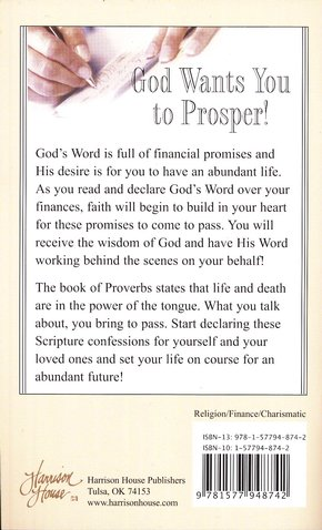 Scripture Confessions for Finances