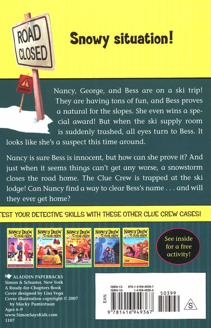 Nancy Drew and The Clue Crew: Ski School Sneak # 11