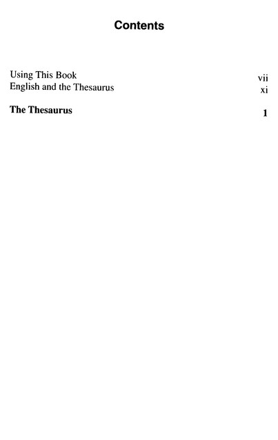 Webster S Thesaurus For Students Third Edition