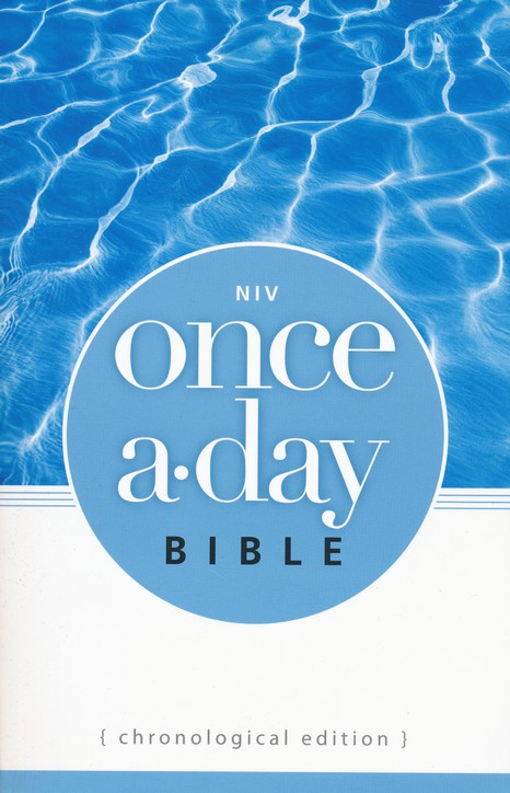 NIV Once-A-Day Bible: Chronological Edition