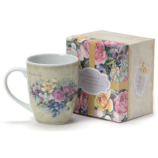 Among the Roses Boxed Mug