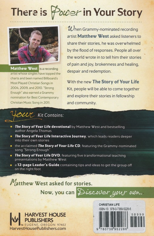 The Story Of Your Life, Church Resource Package
