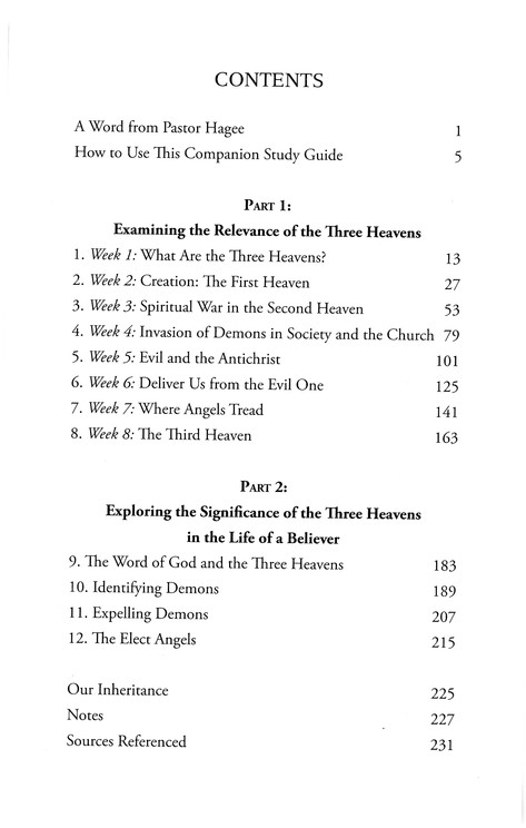 Angels & Demons: Companion Study Guide to The Three Heavens