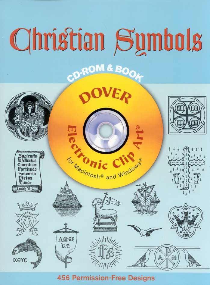 Christian Symbols--Book and CD-ROM