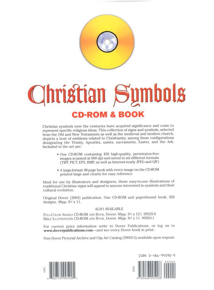 Christian Symbols Book And Cd Rom 9780486995908 Christianbook