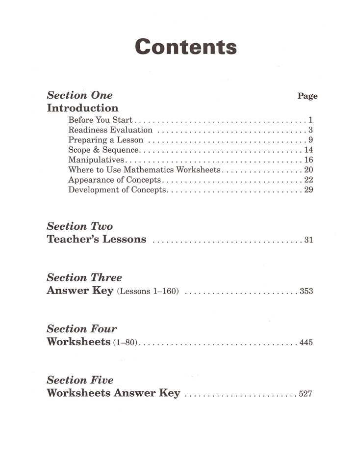 Horizons Math Grade 2 Teacher's Guide