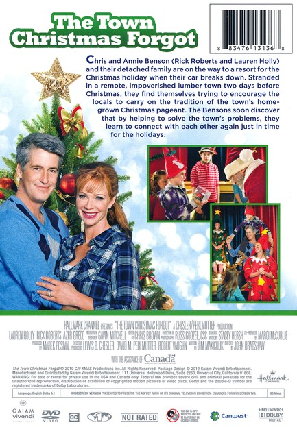 The Town Christmas Forgot, DVD