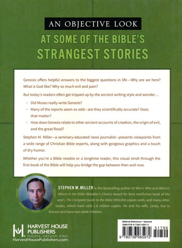 A Visual Walk Through Genesis Exploring The Story Of How It All Began Stephen M Miller 9780736965972 Christianbook Com