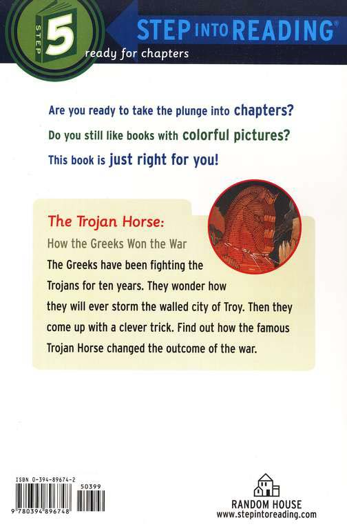 Step Into Reading, Level 5: The Trojan Horse, How the Greeks Won the War