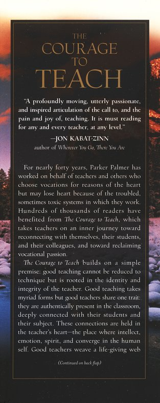 The Courage to Teach, 10 Anniversary Edition