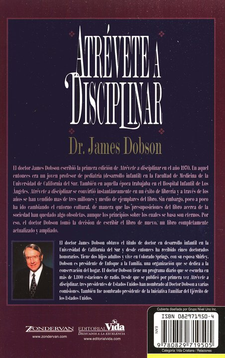 Atr&#233vete a Disciplinar  (The New Dare to Discipline)