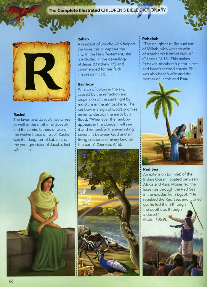 The Complete Illustrated Children S Bible Dictionary Awesome A To Z