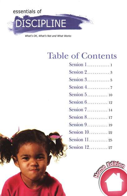 Your Child: Essentials of Discipline, DVD Parenting Seminar