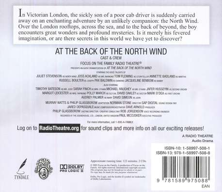 Radio Theatre:  At the Back of the North Wind