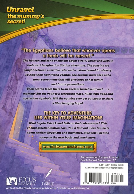 Adventures in Odyssey The Imagination Station ® #7: Secret of the Prince's Tomb