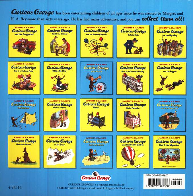 Curious George and the Dump Truck Softcover