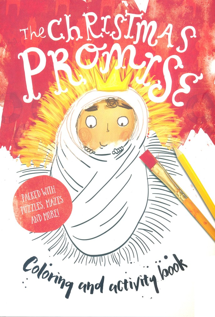 The Christmas Promise Book.The Christmas Promise Coloring And Activity Book