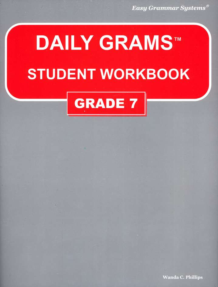 Daily Grams Grade 7 Workbook