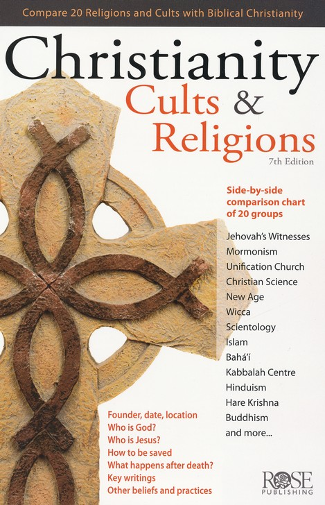 Christianity, Cults & Religions, Pamphlet - 5 Pack