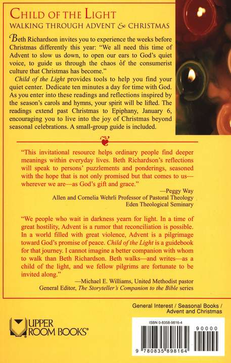 Child of the Light: Walking through Advent & Christmas