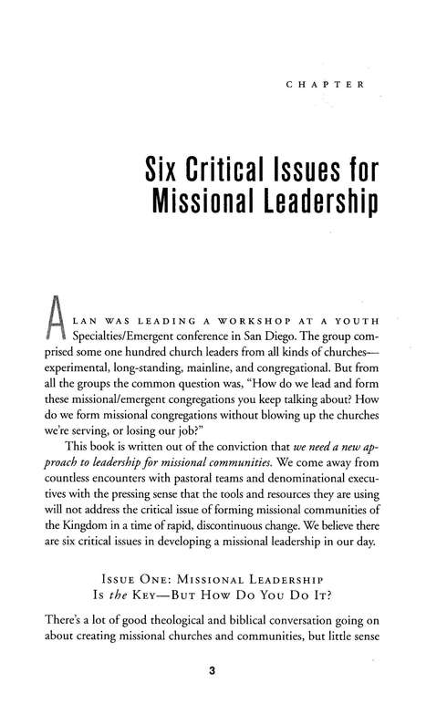 The Missional Leader: Equipping Your Church to Reach a Changing World