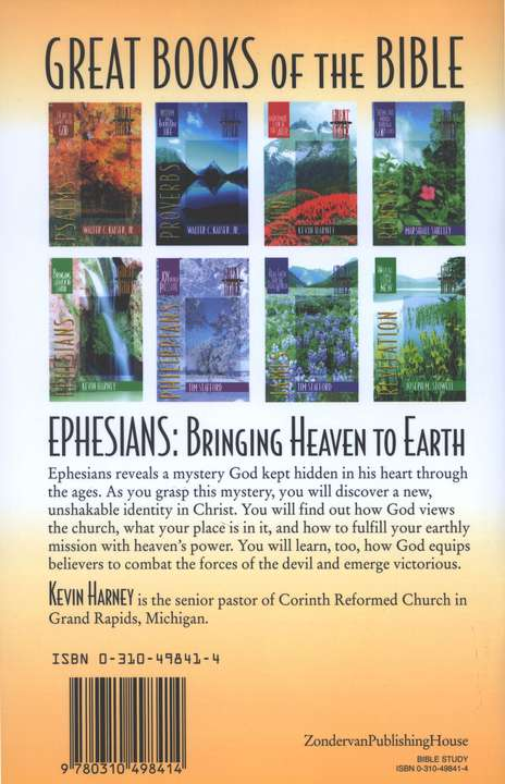 Ephesians: Bringing Heaven to Earth, Great Books of the Bible Series