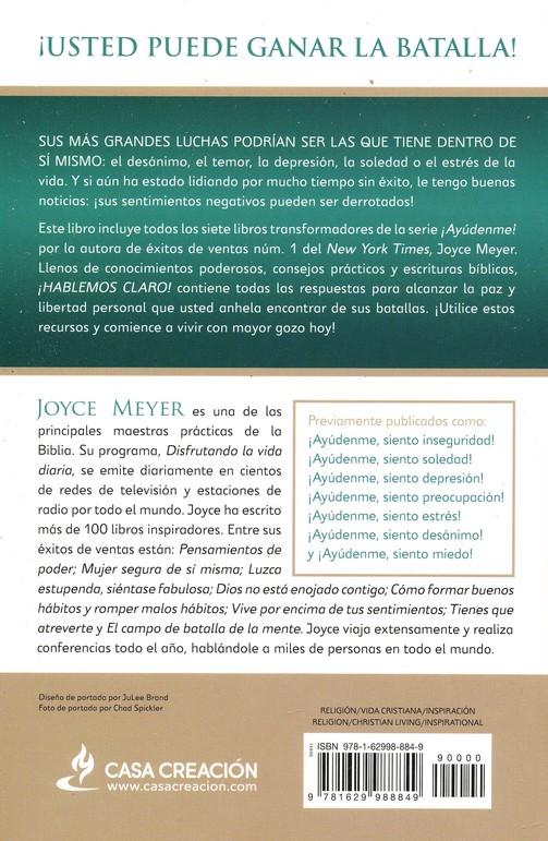 Hablemos Claro Straight Talk Joyce Meyer 9781629988849