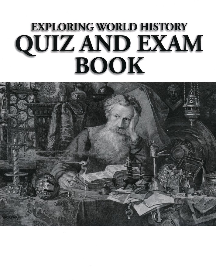Exploring World History Student Review Pack With Quiz Test Book Updated