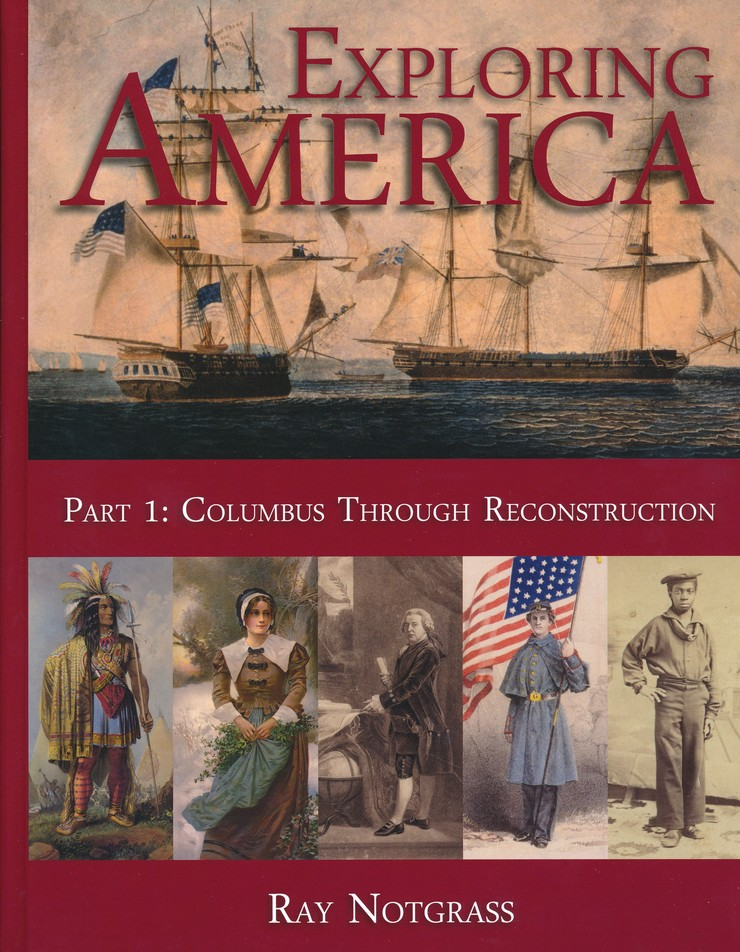 Exploring america updated edition curriculum package ray exploring america updated edition curriculum package ray notgrass 9781609990695 christianbook fandeluxe Gallery