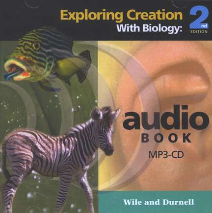 Exploring Creation with Biology, Second Edition MP3 Audio CD