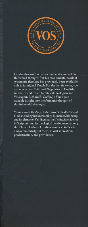 Reformed dogmatics theology proper volume 1 geerhardus vos reformed dogmatics theology proper volume 1 geerhardus vos richard b gaffin 9781577995838 christianbook fandeluxe Images