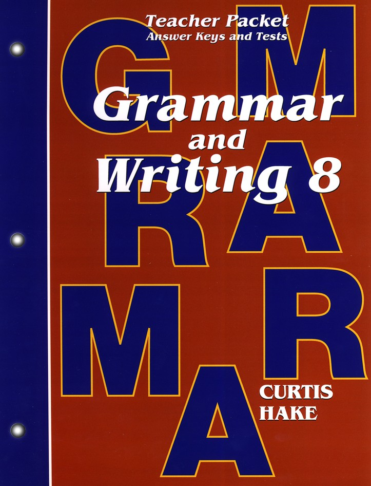 Hake's Grammar & Writing Grade 8 Teacher Packet, 1st Edition