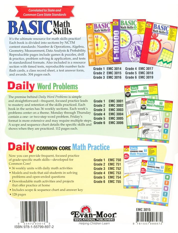 Basic Math Skills, Grade 2: 9781557998972 - Christianbook.com