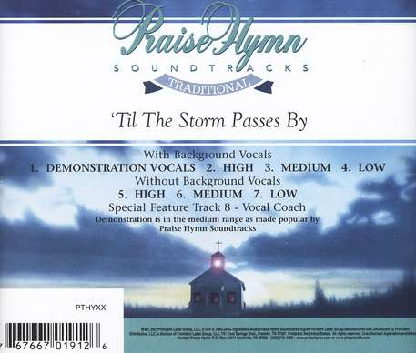 'Til the Storm Passes By, Acc CD