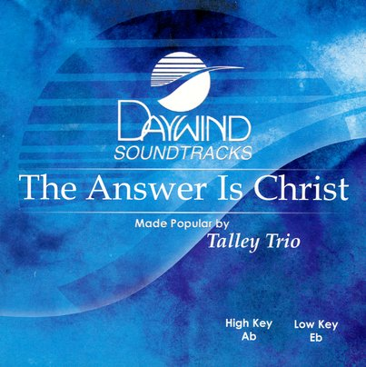 The Answer Is Christ, Accompaniment CD