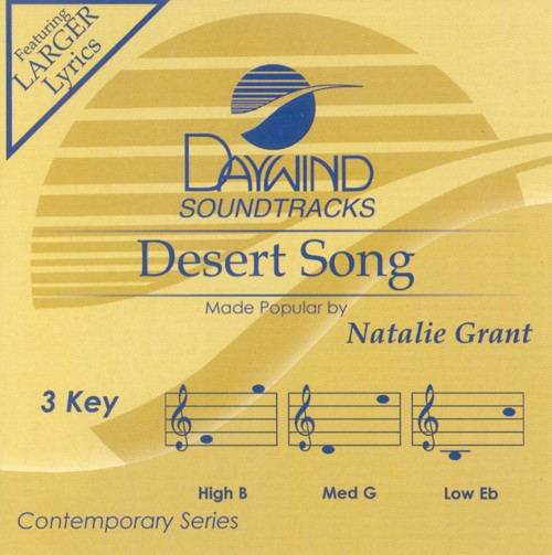 Desert Song, Accompaniment CD