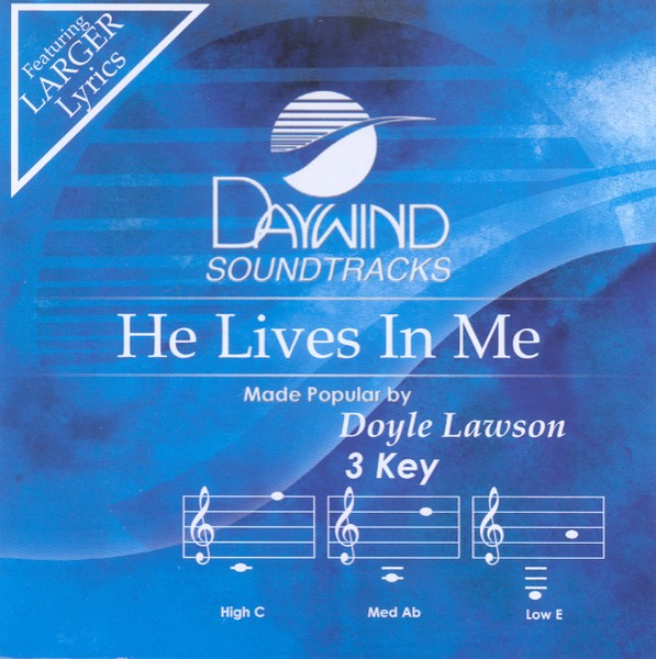 He Lives In Me, Accompaniment CD