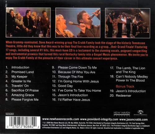 Grand Finale: The Ultimate Concert Experience CD