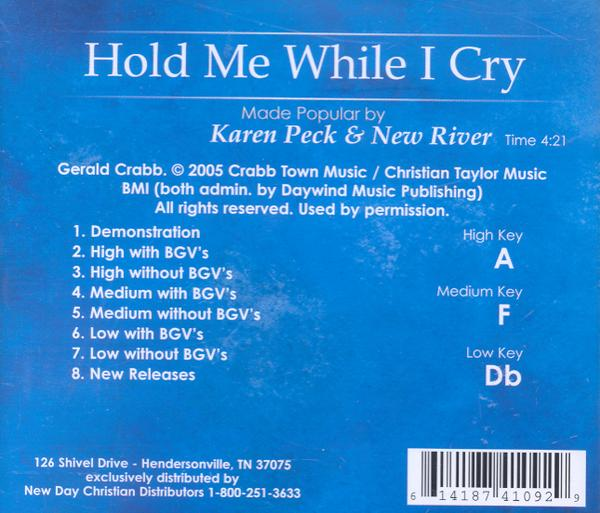 Hold Me When I Cry, Acc CD