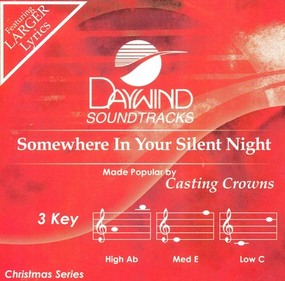 Somewhere in Your Silent Night, Accompaniment Track
