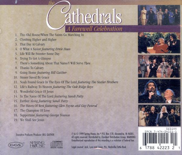 A Farewell Celebration CD