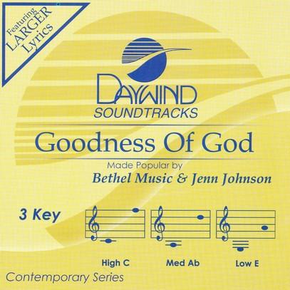 Goodness Of God, Accompaniment Track