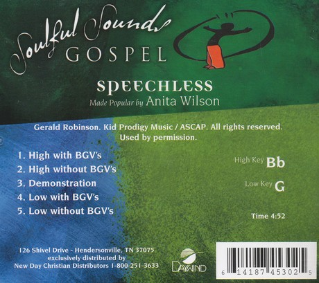 Speechless, Acc CD