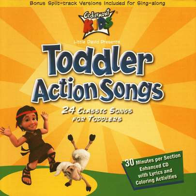 Toddler Action Songs, Compact Disc [CD]