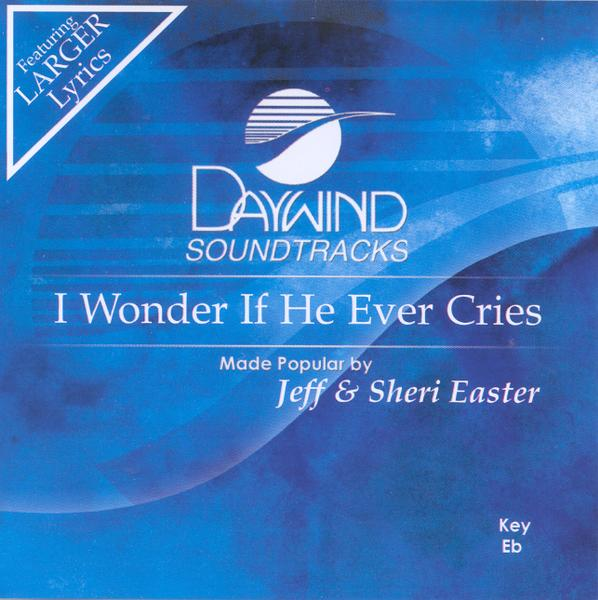 I Wonder If He Ever Cries, Accompaniment CD
