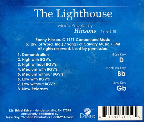 The Lighthouse, Acc CD