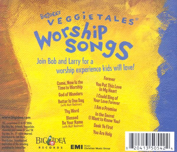 VeggieTales Music: Worship Songs, Compact Disc [CD]