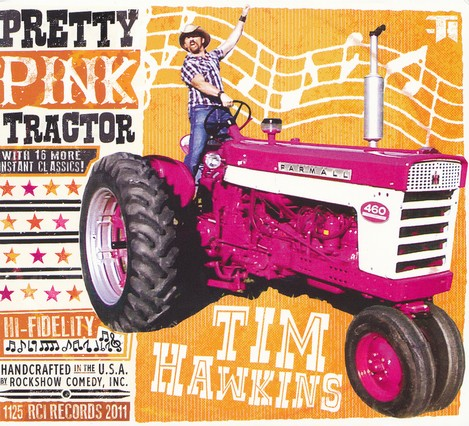 Pretty Pink Tractor, CD