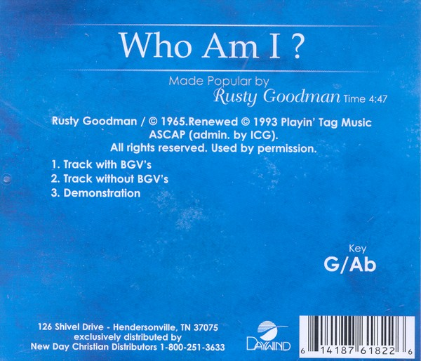 Who Am I?, Acc CD